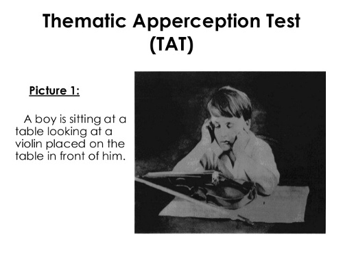 il thematic apperception test